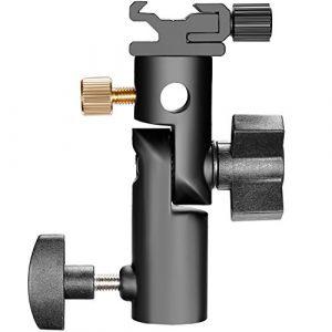 Neewer® Sabot de Flash avec monture pour Parapluie Type E pour tous les flashes à sabot sauf marques Sony et Minolta