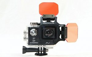 rétrodiffusion flip5 Pro Package with Shallow, Dive & Deep Filters & + 15 macromate Mini Lens for actionpro x7neo