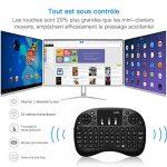 Android 7.1 Smart TV Box, GooBang Doo 2018 Dernière Version XB-III Boîtier TV 2Go RAM 16Go ROM Quad Core Soutien Réel 4K H.265 WiFi 2.4GHz Bluetooth V4.0 avec Mini Clavier Sans Fil