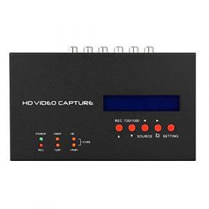 Docooler Ezcap283S 1080P HD Enregistreur de capture vidéo Capturer HD Ypbpr Composite HD 1080 Plug and Play EU Plug