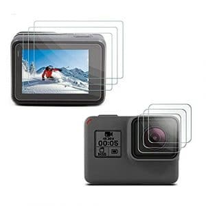 [3pcs] Deyard LCD Protector & Objectif Film de protection pour GoPro Hero 2018 GoPro Hero 6 Hero 5 Black Action Camera