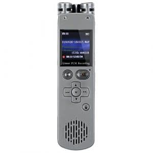 SODIAL (R)8 Go Digital Linear PCM Enregistreur vocal Presentateur Telecommande Lecteur MP3