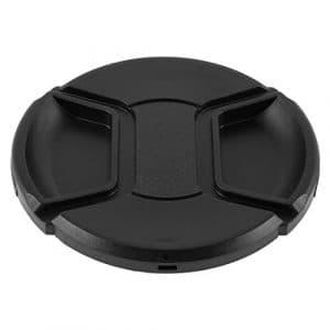 SODIAL(R) 86mm Centre Universel Casquette Pincee Lentille frontale pour DSLR Camera