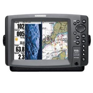 Sondeur Echo Radar Pêche FF998c HD-Si Side Imaging, Sonde Tableau Arrière & Température