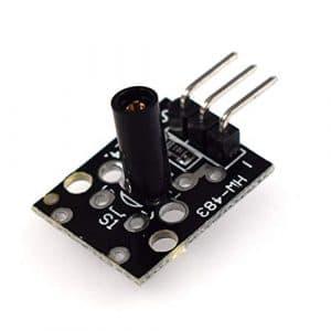 Suickt Module de commutateur de Vibration HW-513 Module de capteur de commutateur de Vibration pour Le déclenchement de Petits Circuits de Courant KY-002