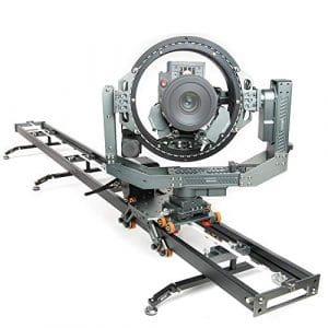 Asxmov-g6extensible connecté Circuit coulissant pour appareil photo avec manette sans fil Photographie motorisé Slider