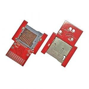 Coomir SD2VITA PSV Adaptateur de Carte mémoire SD Micro SD pour PS Vita Henkaku 3.60