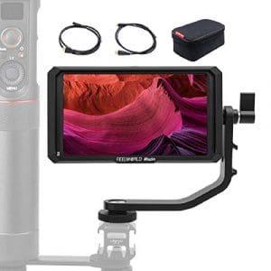 FEELWORLD Master MA5, 5 Pouces Moniteur sur Caméra, 1920×1080 4K HDMI IPS Full HD Caméra Champ Monitor Assistance vidéo Ecrans de visée pour Stabilisateur Cardan DSLR Caméscope