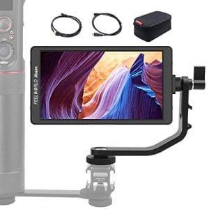 FEELWORLD Master MA6 5.7 Pouces Ecrans de visée, 4k HDMI Full HD 1920×1080 IPS Aluminum Caméra Champ Moniteur pour DSLR Appareil Photo Gimbal Stabilisateur