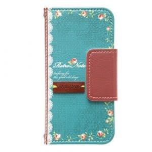 [Produit d'agent positif Nippon] Mr.H iPhone5S / 5 Case R?tro Remarque type journal vert M2396i5 (japon importation)