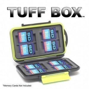 Tuff Box Étui pour 8 cartes mémoire SD