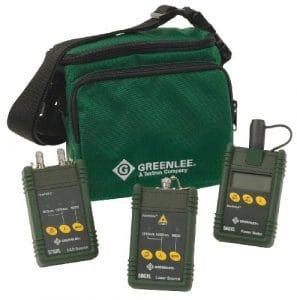 Greenlee 5890-fc Multimode et monomode Fibre optique Ensemble de test avec interface FC