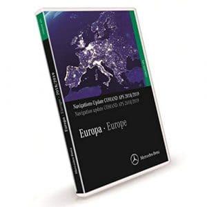 Mercedes-Benz Navigations DVD COMAND APS Europa NTG1 2018/2019 A2118270901 Vert