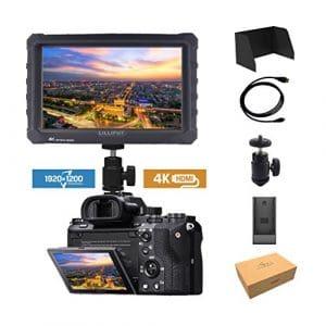 Noir Lilliput A7S 7 1920×1200 IPS Ecrans pouces Moniteur sur Caméra Field Monitor 4K HDMI Video DSLR Camera SONY A7 A7R A7S II A6500 Panasonic GH4 GH5 Canon 5D Mark IV 6D 7D 70D 80D NIKON DJI Ronin M