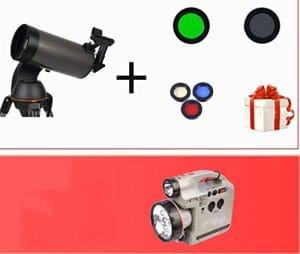 BCX Télescope Astronomique Professionnel Stargazing 10000 Haute Définition HD Adulte 5000 Espace Profond,G,télescope