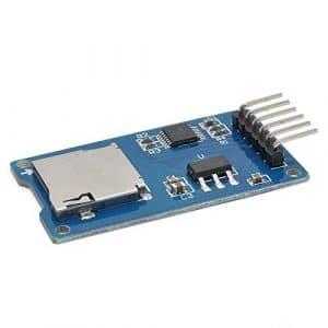 Semoic Carte de Stockage Micro-SD Carte Micro-SD TF Module D'Extension de Bouclier de Memoire SPI pour pour Arduino DIY