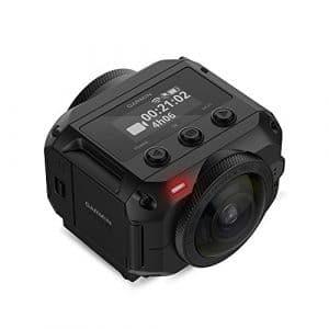 Garmin – Virb 360 – Caméra 360 Degrés – Résolution jusqu'à 5.7K/30 ips – Audio Spacial à 360 Degrés