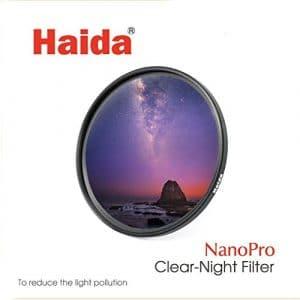 Haida slim Nano Pro MC Clear Night Filtre–55mm