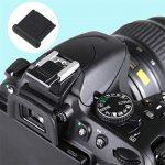Protège-Capuchon de Cache-Flash pour Appareil Photo DSLR Nikon D90 D200 D300 D-BS