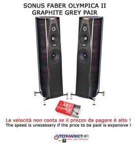 Sonus Faber Olympica II Graphite Grey Speakers Pair