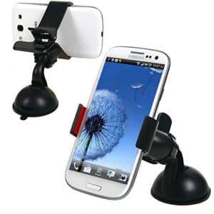 Téléphone de Voiture Support Voiture 360 degrés de Rotation de Navigation GPS Support Lazy Support