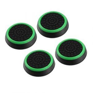 SaraHew74 4pcs Silicone Anti-dérapant rayé Gamepad contrôleur keycap poignées Pouce Couvercle de Protection pour ps3 / 4 pour x Box One / 360