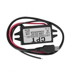 SaraHew74 Convertisseur d'adaptateur USB Simple de Puissance de véhicule Automatique de Voiture de CC 15W à CC