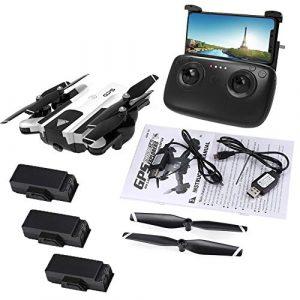 SG900-S 1080P WIFI Drohne Version FPV GPS RC Blanc Version mit drei Akkus
