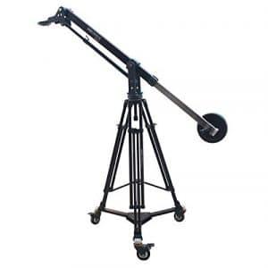 Shootvilla 7'Max vidéo Grue à flèche 100mm Heavy Duty Trépied Portable Dolly prenant en Charge DSLR DV Caméras de vidéo caméscope pesant jusqu'à 25kg Sac de Transport
