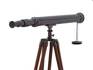 SOL Oil-rubbed Bronze Harbour Master Télescope 152,4cm–nautique Scope