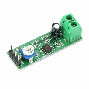 HoganeyVan Multimètre 2 LM386 Super Mini 200X Modules de Carte d'amplificateur de Puissance Mono Channel Electronic DIY Audio Amplify Volume Adjustable