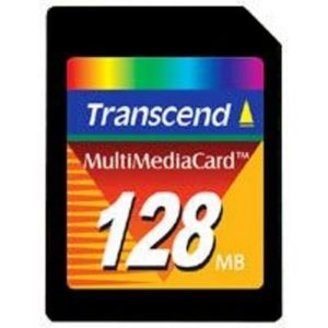 Ts128mmc 128MB MMC Carte multimédia Transcend 10-Pack