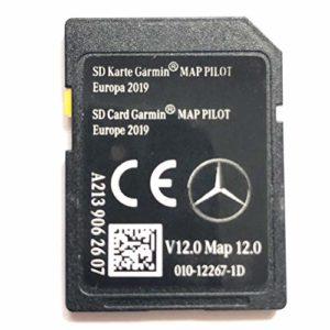 Carte SD Mercedes GARMININ Carte Pilot STAR2 v12 Europe 2019 – A2139062607
