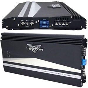 AMPLIFICATEUR Auto LANZAR VCT2610 VCT 2610 Ultras Slim 2 CANAUX 6000 Watt Max pour PORTIER OU SUBWOOFER en Classe AB avec Filtre SUBSONIQUE AUX 24 DB