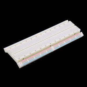 Protoboard sans Soudure de Carte d'Assemblage MB-102 830 Points de rattachement 2 Bus Circuit de Test Mini Circuit de Test Universel de Protoboard ToGames-FR