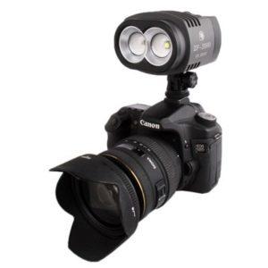 MKOKO Torche vidéo ZF-2000 2 LED for caméra/caméscope Qualité sans souci