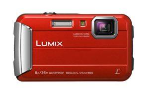 Panasonic DMC-FT30EF-R Appareils Photo Numériques 16.6 Mpix Zoom Optique 4 x Rouge