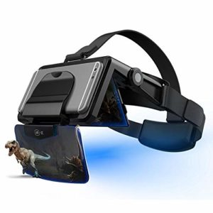 ZABB FIIT VR AR-X Glasses Helmet 3D VR Glasses Virtual Reality Headset for Smartphone Cardboard Casque Phone Android 4.7-6.3 inch Cell Phone.