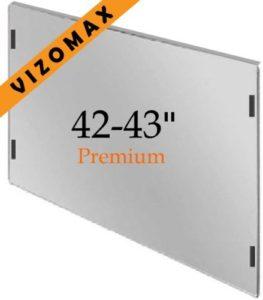 42-43 pouces Vizomax Protecteur d'écran pour télévision pour LCD, LED at Plasma TV. Téléviseur Protège-écran