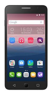 Alcatel Pop Star 3G Smartphone débloqué H+ (Ecran: 5 pouces – 8 Go – Double SIM – Android) Blanc