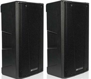 DB Technologies B-Hype Paire – Moniteur diffuseur Enceinte Active à Deux Voies, Noir DB B-Hype 10 – Coppia