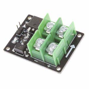 Garciaria Module MOSFET de commutateur à Basse Tension Haute Tension 12V 24V 36V pour Arduino Connecter la Vitesse du Moteur de contrôle PWM PWM 3V 5V (Couleur: Noir-Vert)