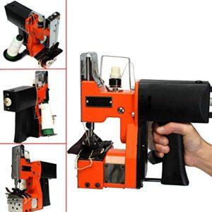 Calli 220v portable machine à coudre électrique machines d'étanchéité de la machine de tissu industriel
